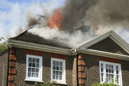 Smoke & Fire Damage restoration in Zanesville Ohio.